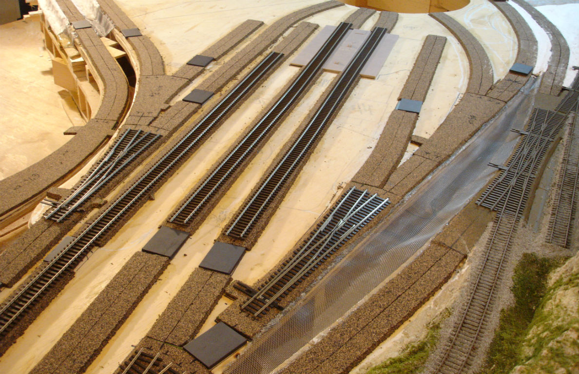Wiring Model Railroad Layout Trusted Diagrams A Railway Build Custom Scenery Structure Dc Train Layouts