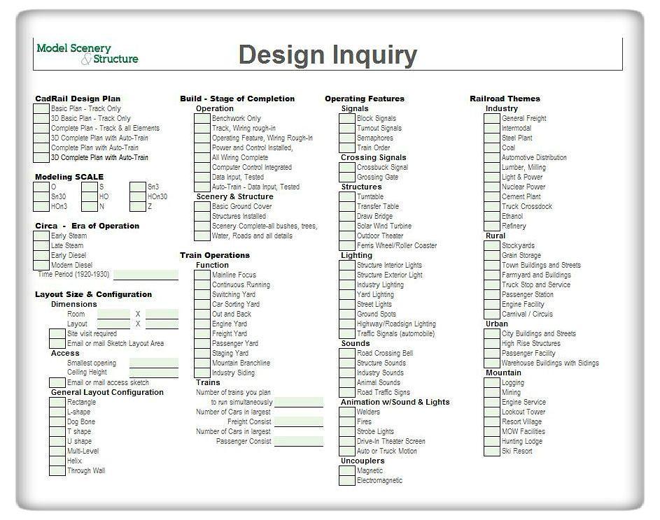 Design inquiry form model scenery structure design inquiry form pg 1 altavistaventures Images