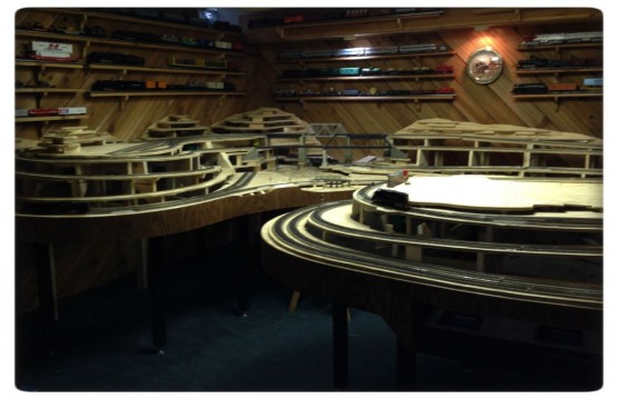 Model Railroad Installation - 105
