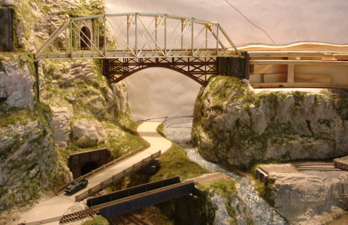 Build Custom Model Railroad